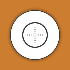 Sight device icon.