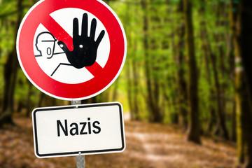 Schild 94 - Nazis verboten