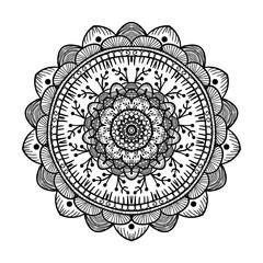 Mandala Line Template