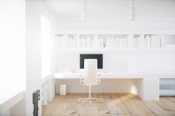 White office interior