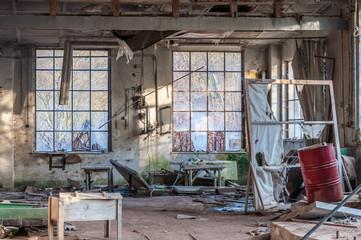 Lost Places: Alte Werkstatt