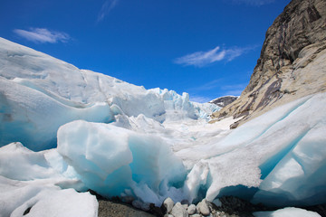 Keuken foto achterwand Gletsjers Nigardsbreen glacier