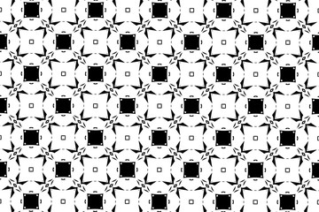 Simple patterns in black and white color. 9