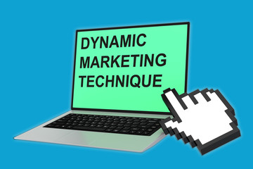 Dynamic Marketing Technique concept