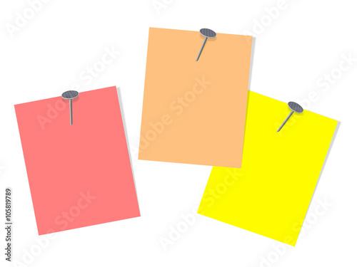 Pinnwand, Notizen, Zettel, Notes\