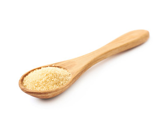 Spoon full of cane sugar