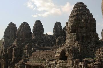 Gesichter des Bayon Tempels X