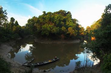 Village in the Amazon