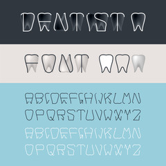 Tooth Font