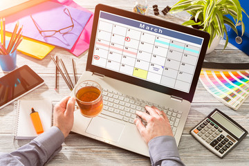 Calendar Events Plan Planner Organization
