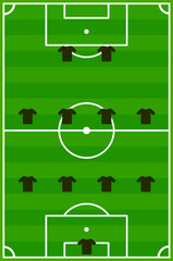 Fußball Team System