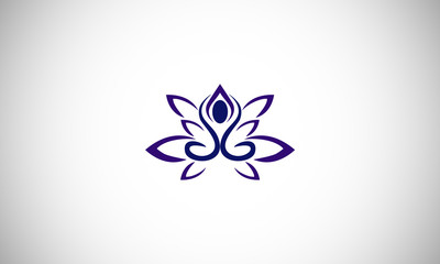 lotus flower business logo