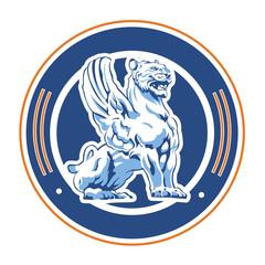 winged tiger emblem