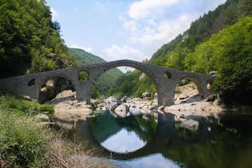 Devil's bridge in Bulgaria