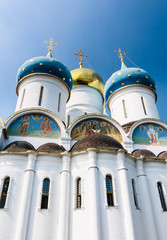 Cathedral of the Assumption of the Blessed Virgin Mary.  Holy Trinity-St. Sergiev Posad