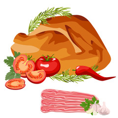 Roast Chicken grilled
