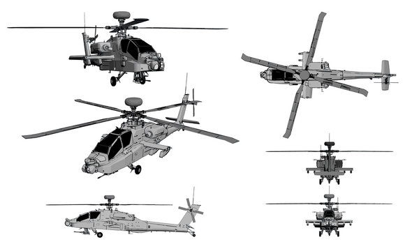 helicopter apache
