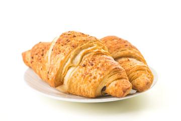 leckere Nuss-Nougat-Croissants