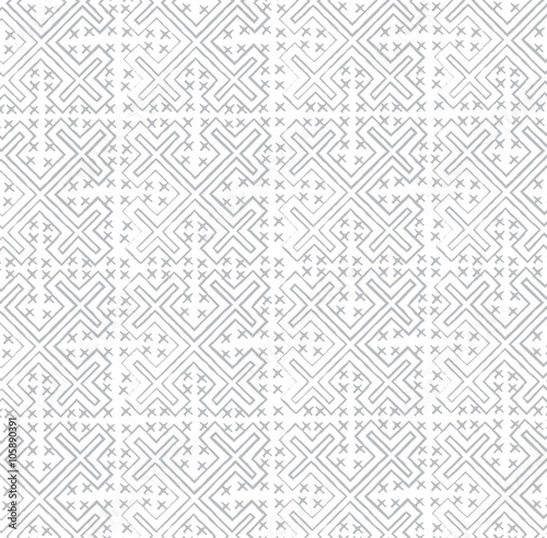 Hmong Craft Paint Pattern For Cloth And Background Texture Vector Awesome Hmong Pattern