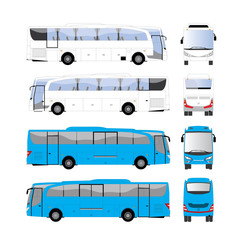 Bus vector template