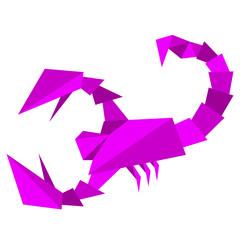 Scorpio zodiac sign. All signs illustration available in portfol