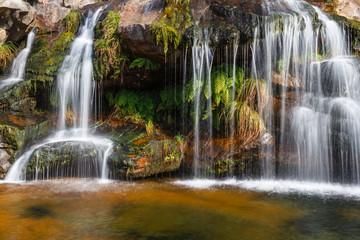 Cascadas en la Senda del Cañón del Río Tera. Parque Natural Lago de Sanabria, Zamora.