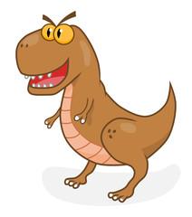 Cartoon tirannosaurus