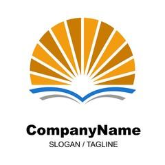 education logo icon vector