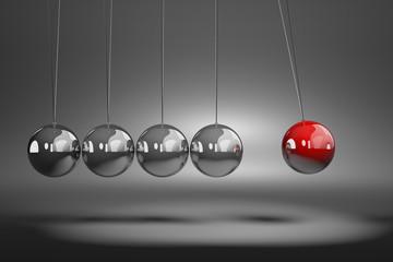 Metallic Balls Mechanism