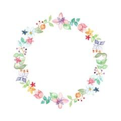 花冠、サークル