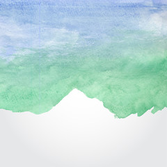 Vector Watercolor Background Design