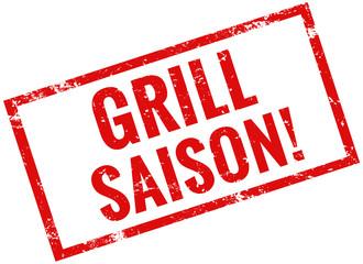 grill saison stempel rot