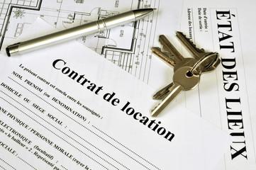 Contrat de location et état des lieux