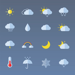 set color weather icons