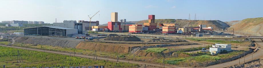 Mining and Processing Plant of Alrosa diamond mining company