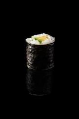 Avocado maki sushi