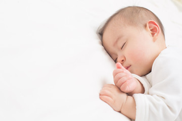 よく眠る赤ちゃん