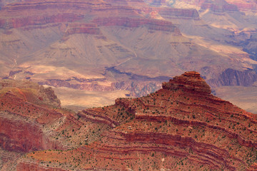 Inside the famous Grand Canyon