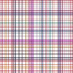 Seamless colorful checkered pattern. Vector illustration for you