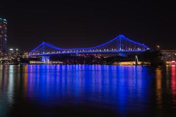 The Story Bridge over the Brisbane River in Brisbane