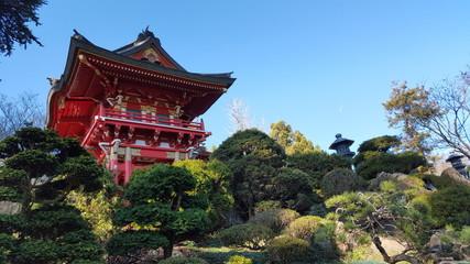 Golden Gate Park Japanese Tea Garden, California, USA