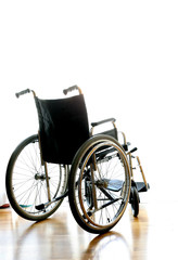 wheelchair for transport of disabled people