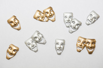 Greek Drama Masks