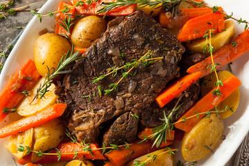Homemade Slow Cooker Pot Roast