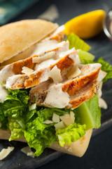 Homemade Chicken Caesar Sandwich
