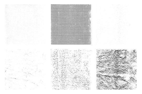 grunge texture overlay backgrounds, vector illustration