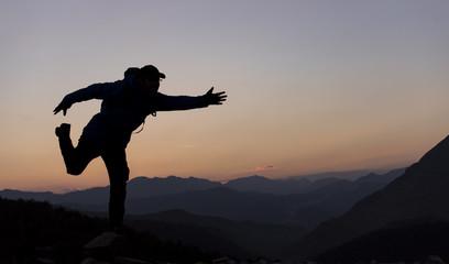 dağlarda macera tutkusu