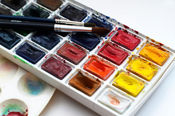 Art watercolor beginner set