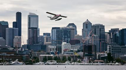Seaplane in the sky –  Seattle