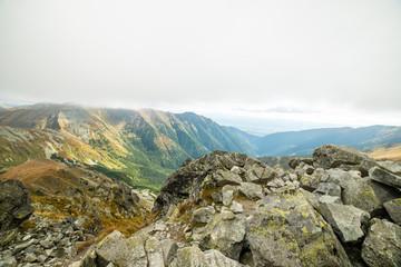 View of Tatra Mountains in Slovakia